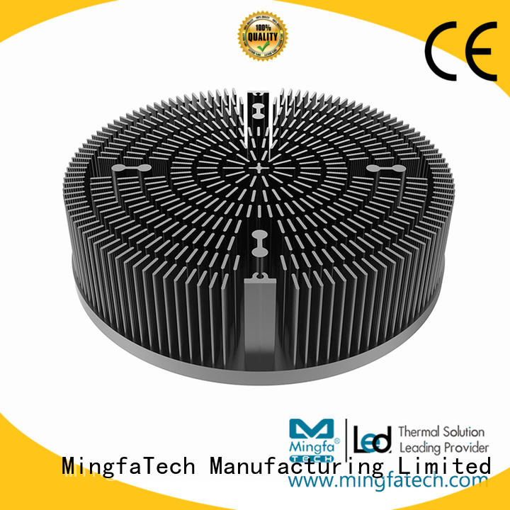Mingfa Tech CNC machining passive heat sink at discount for horticulture
