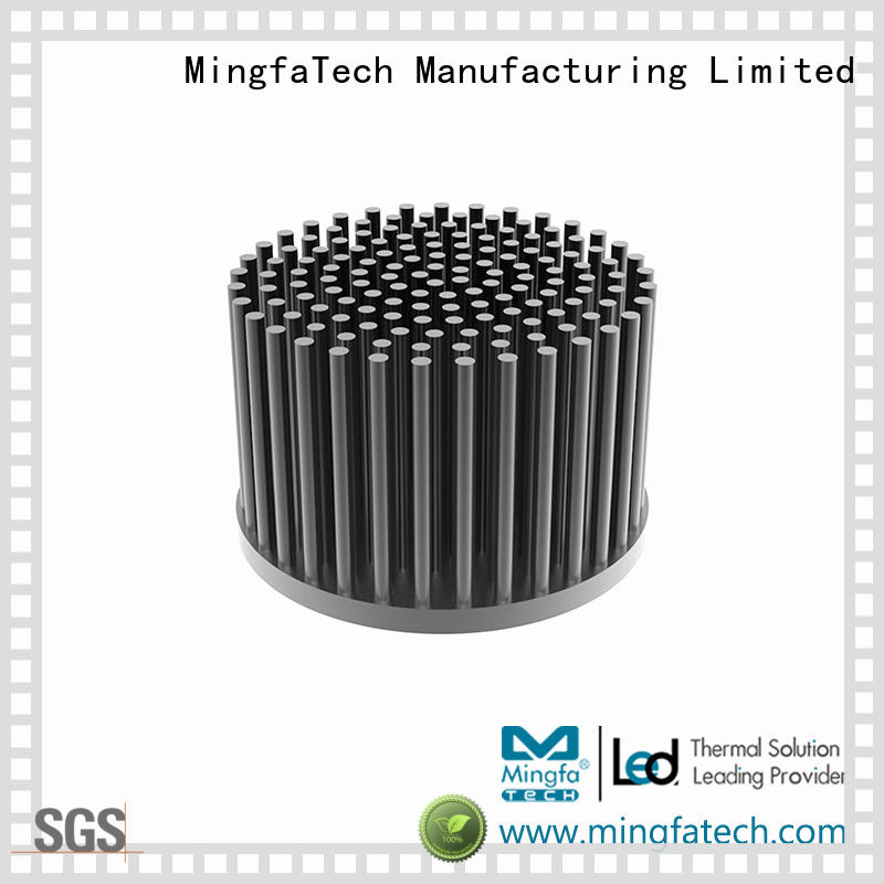 GooLED-7830/7850/7880/7890 passive extruded aluminium heatsink