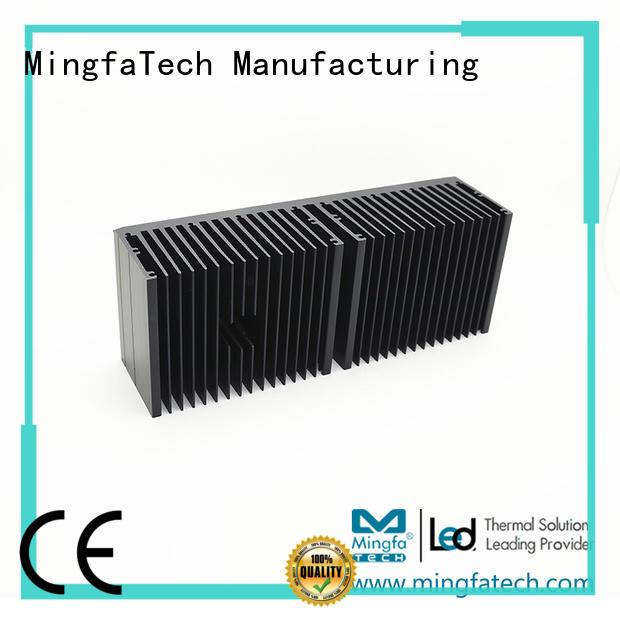Mingfa Tech die-casting big heat sink manufacturer for parking lot