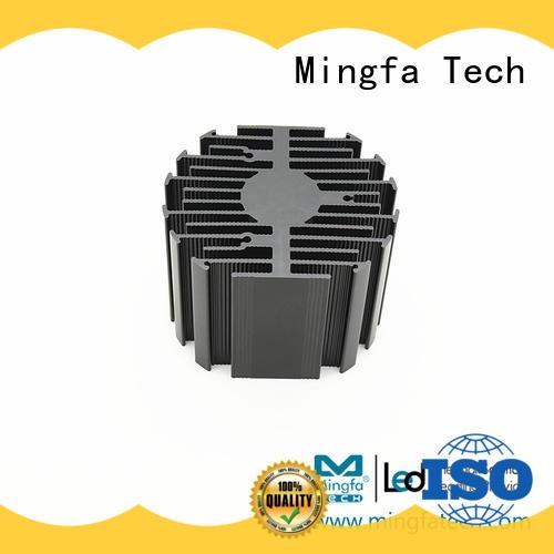 Mingfa Tech healthcare low profile heatsink design for museums