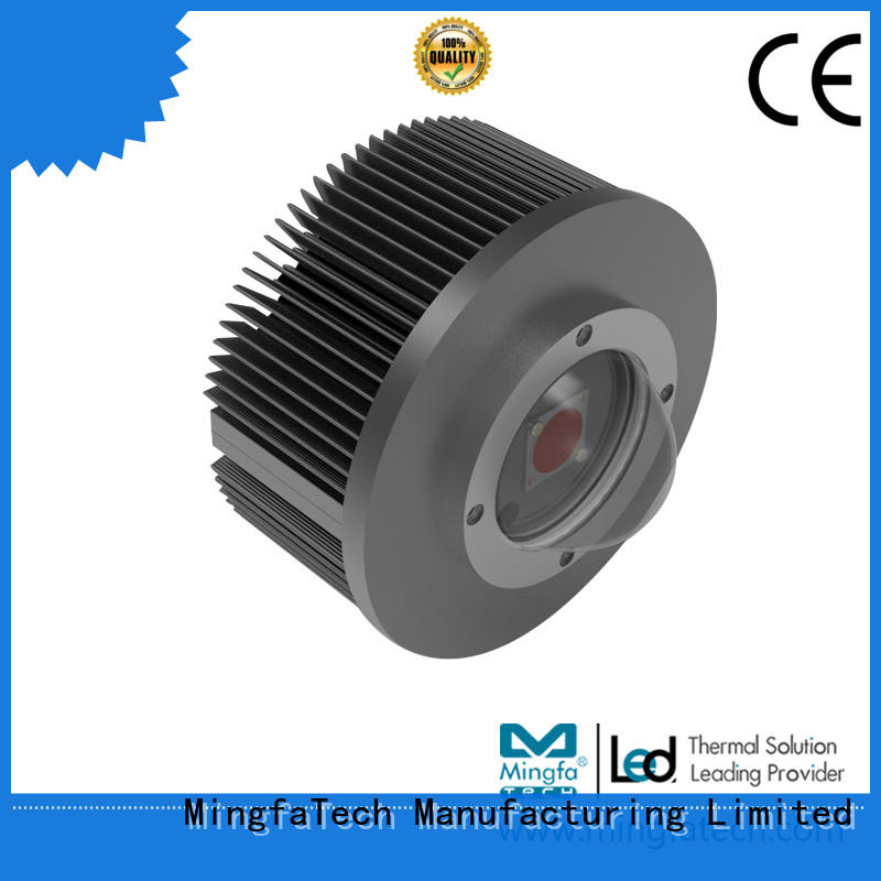 Mingfa Tech dusting led heatsink module design for landscape