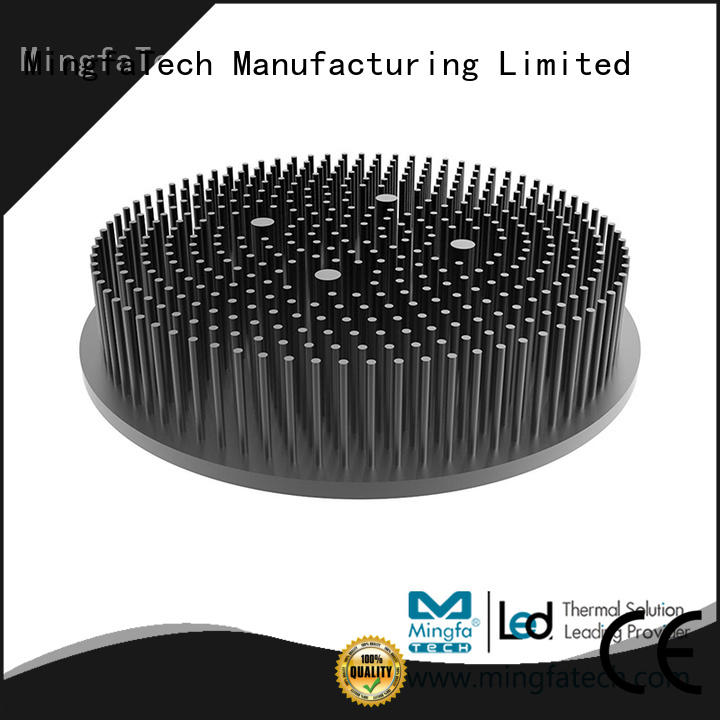 Mingfa Tech large thermal heat sink anodized for parking lot
