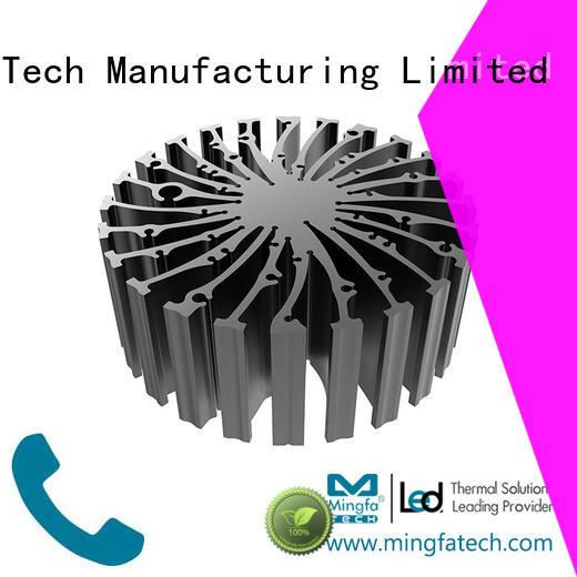 Mingfa Tech Brand heatsink cylindrical cooler cob led light