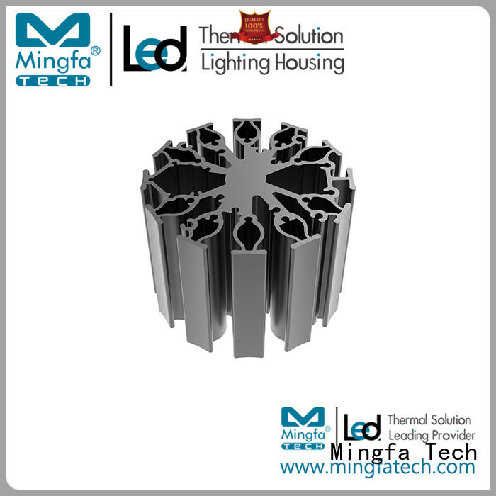 large led heat sink sink design for healthcare