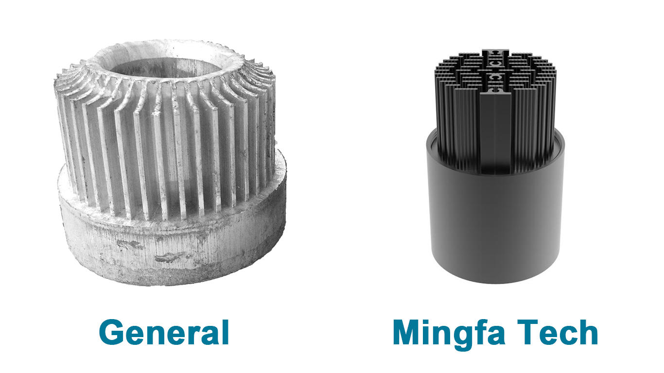 Mingfa Tech anodized can light housing supplier for museums-2