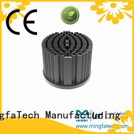 large aluminum heat sink xled60306050 for mall Mingfa Tech