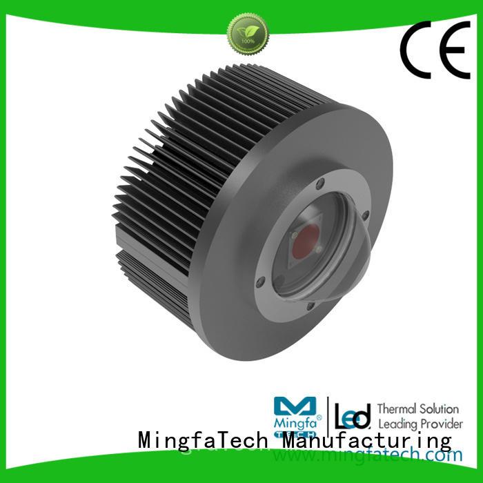 anodized light track lighting kits black led Mingfa Tech Brand