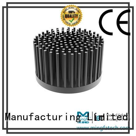 Mingfa Tech cob heat sink led manufacturers anodized for retail