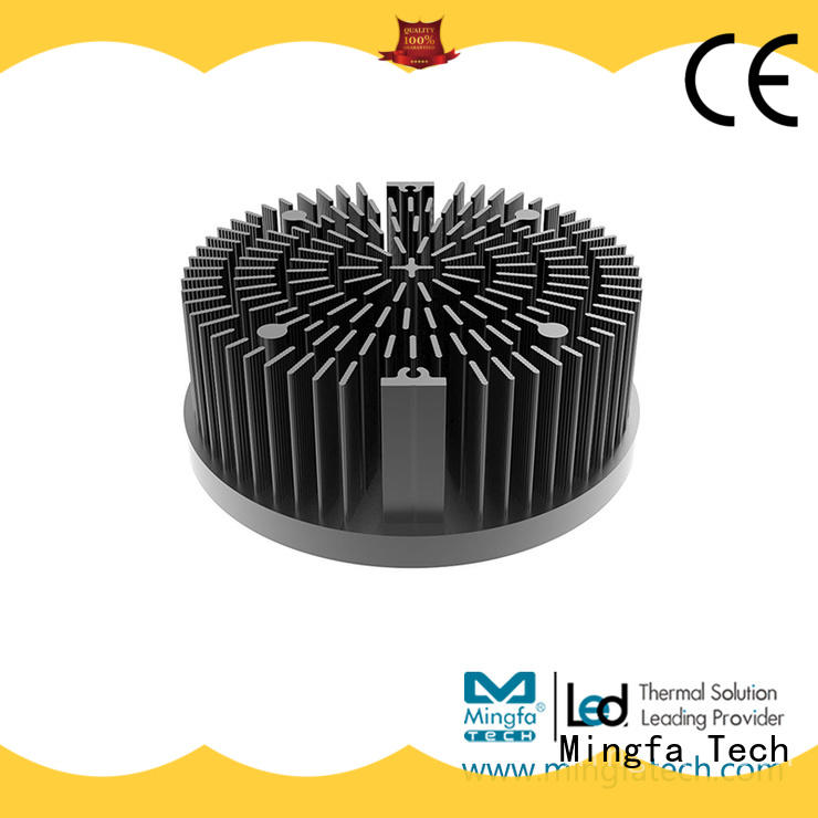 Mingfa Tech pinfin led thermal management design for roadway