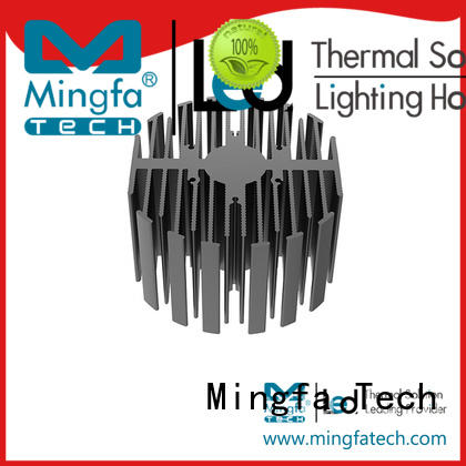 Indoor heat sink compound for led extrusion design for station