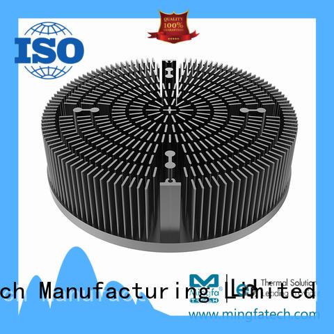 forging aluminium heatsink extrusion xled70307050 for horticulture Mingfa Tech