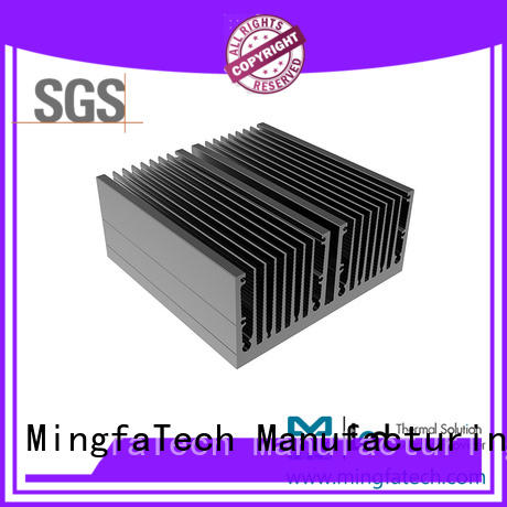 Mingfa Tech die-casting aluminum heatsinks design for office