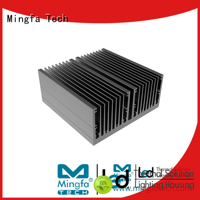 Mingfa Tech CNC machining aluminum heatsinks manufacturer for retail