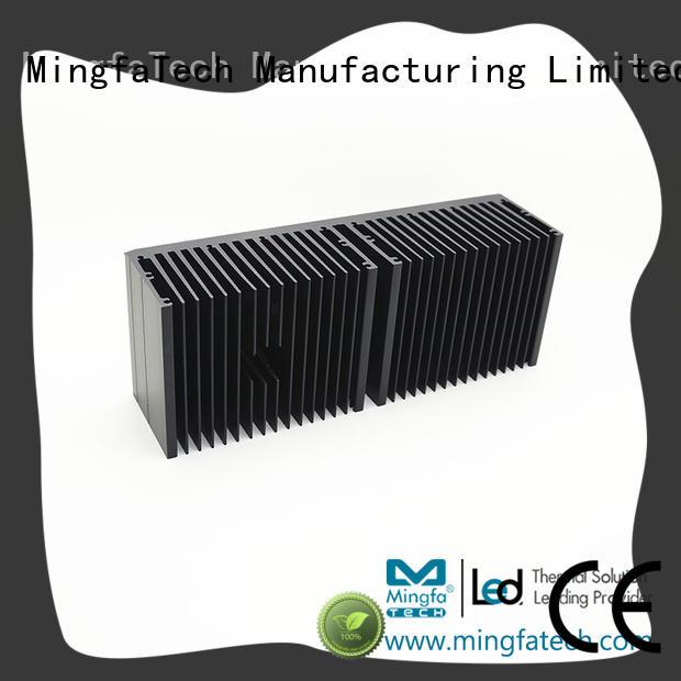 Mingfa Tech tled92×90×3092×90×50 aluminum heatsinks manufacturer for parking lot