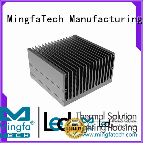 Mingfa Tech CNC machining big heat sink manufacturer for landscape