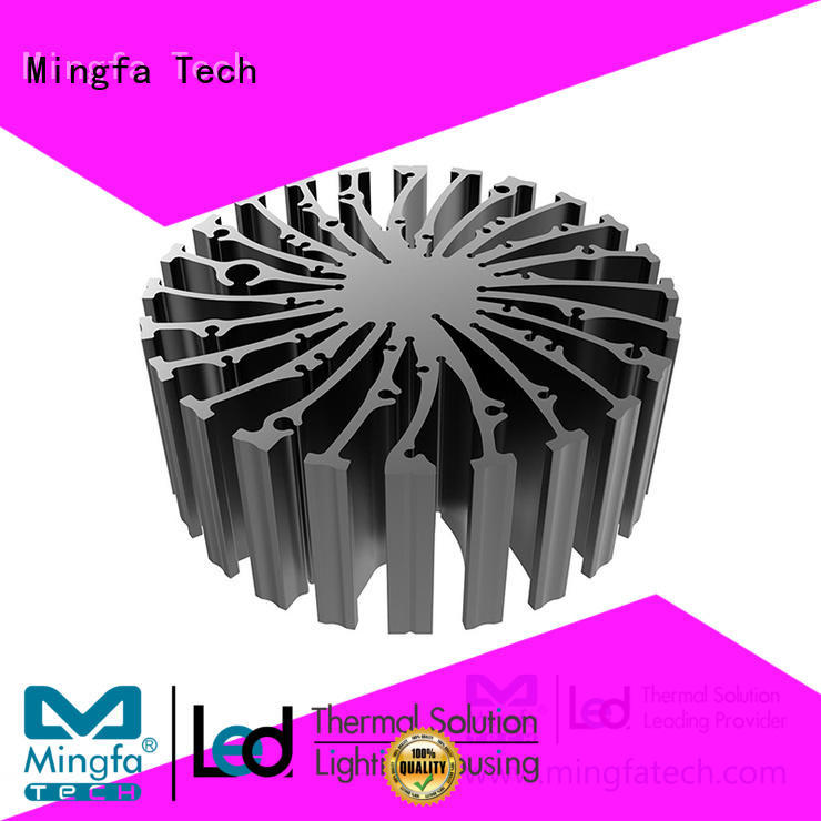 etraled4820483048504880 10 watt led heat sink extrusion for airport Mingfa Tech