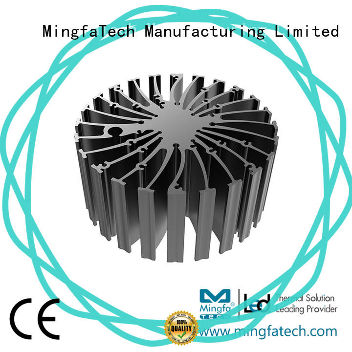 Indoor water cooled heat sink cylindrical supplier for mall