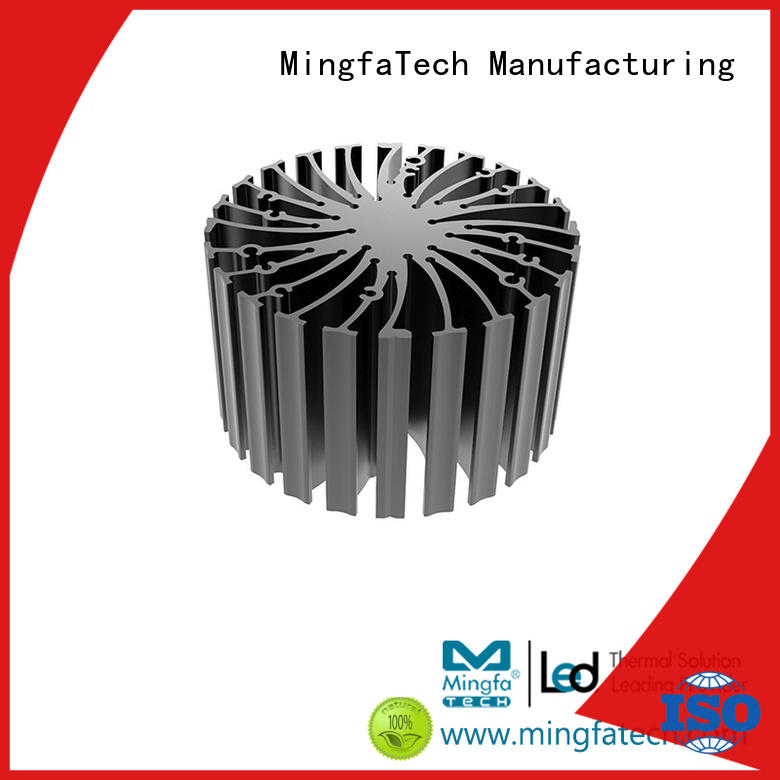 Mingfa Tech round small heat sink design for indoor