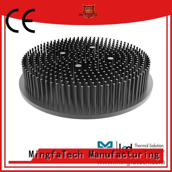 Mingfa Tech large heatsink aluminium anodized for landscape