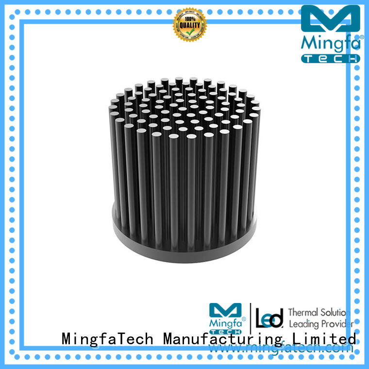 residential high power led heatsink design for parking lot Mingfa Tech