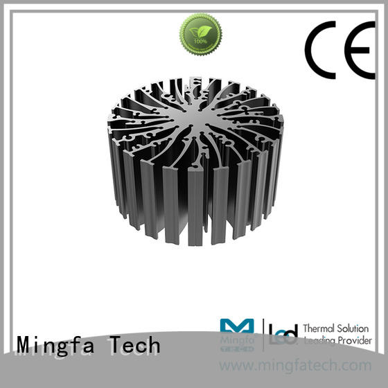 sink extruded heat sink heatsink for mall Mingfa Tech