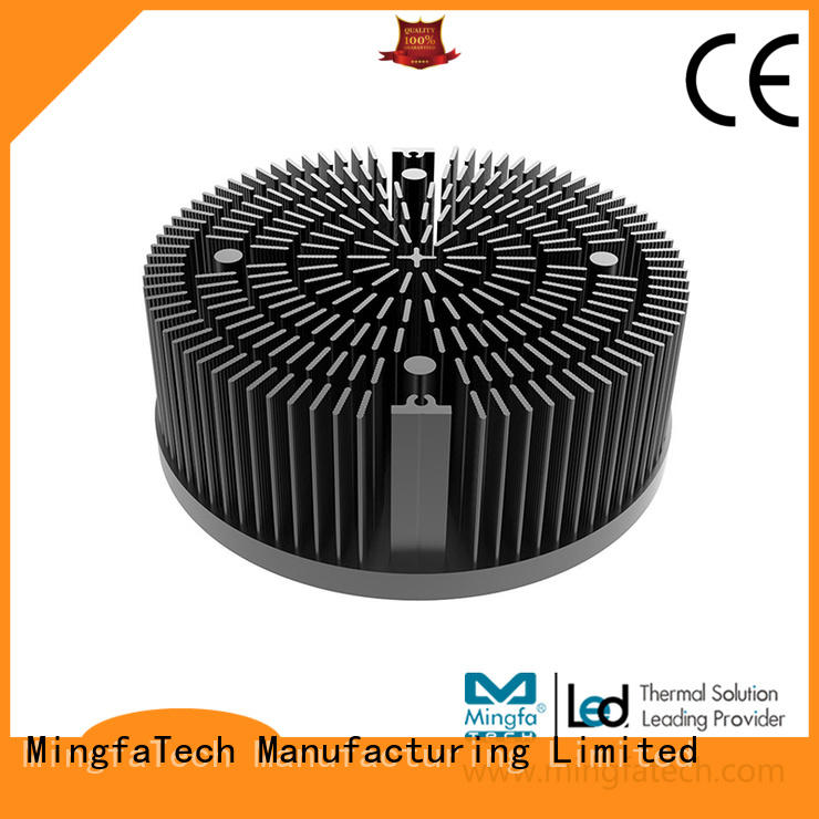 Mingfa Tech CNC machining large aluminum heat sink supplier for horticulture