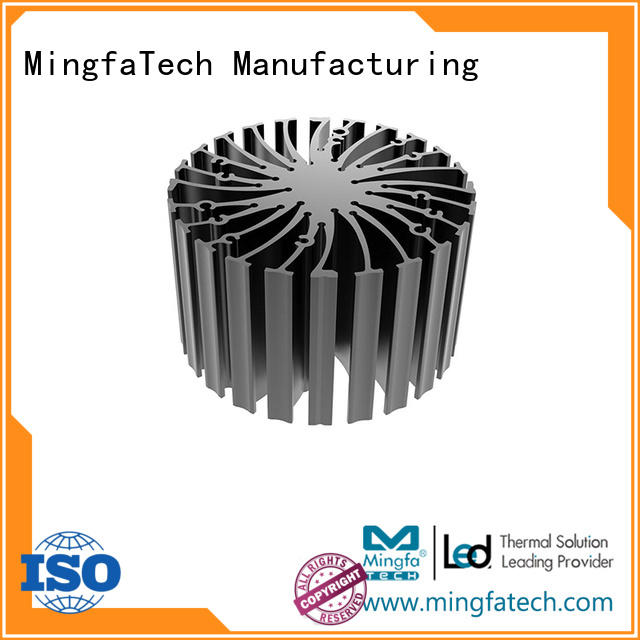 Mingfa Tech al6063t5 water cooled heat sink supplier for indoor