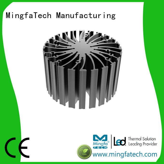 Mingfa Tech cylindrical led star heat sink customize for airport