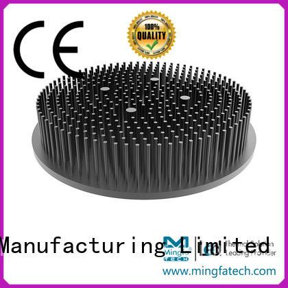 Mingfa Tech flat heatsink aluminium manufacturer for parking lot