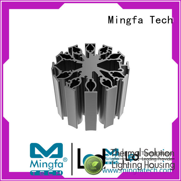Mingfa Tech aluminum led heat sink customize for museums