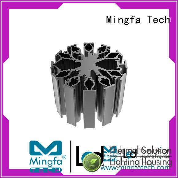 Mingfa Tech aluminum led heat sink customize for museums