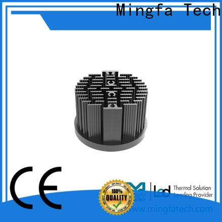 Mingfa Tech metal stamping large aluminum heat sink manufacturer for mall