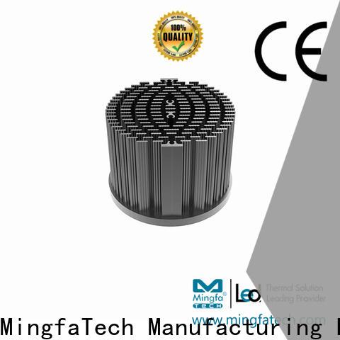 Mingfa Tech CNC machining thermal sink design for education