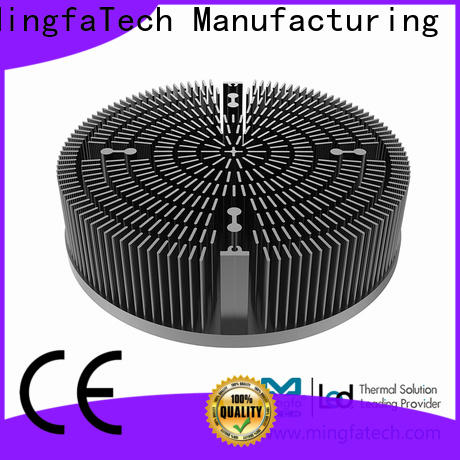 Mingfa Tech metal stamping heat sink size design for mall