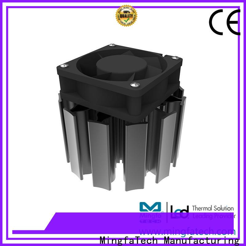 Mingfa Tech active heat sink design for education