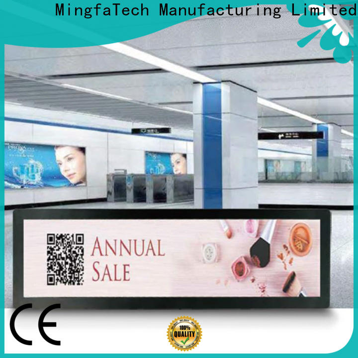 Mingfa Tech digital signage supplier for airport