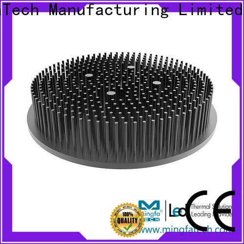Mingfa Tech architectural heatsink aluminium anodized for retail