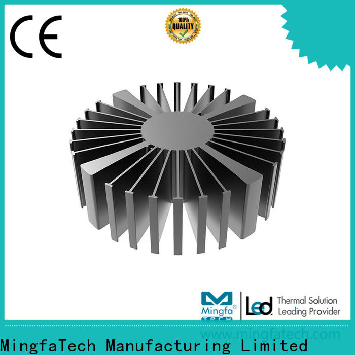 Mingfa Tech anodized heat sink enclosure customize for cabinet