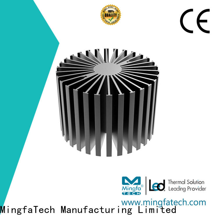 Mingfa Tech die-casting heat sink enclosure design for office