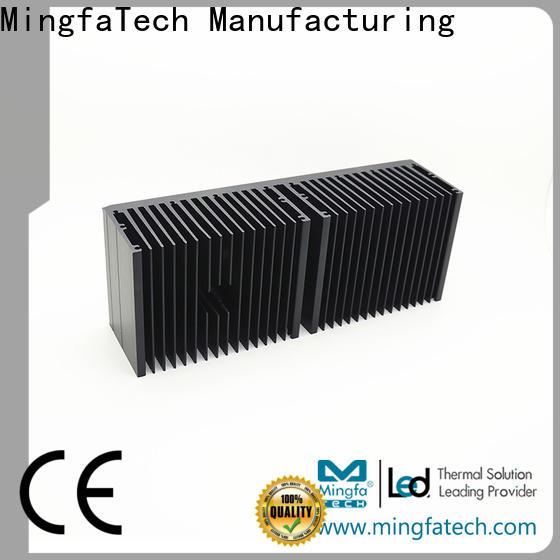 Mingfa Tech forging aluminum heatsinks manufacturer for parking lot