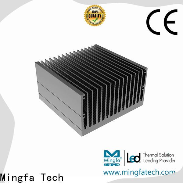 Mingfa Tech extruded aluminum heatsinks design for parking lot