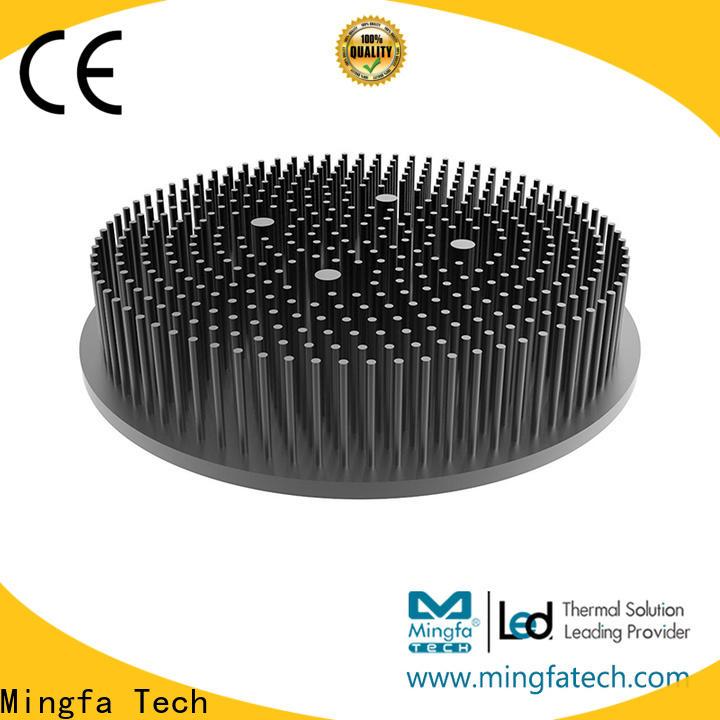 Mingfa Tech gooled6830685068606880 led strip heat sink anodized for parking lot