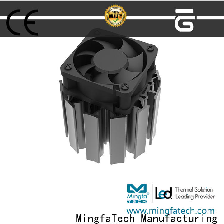 architectural active heat sink customized for roadway
