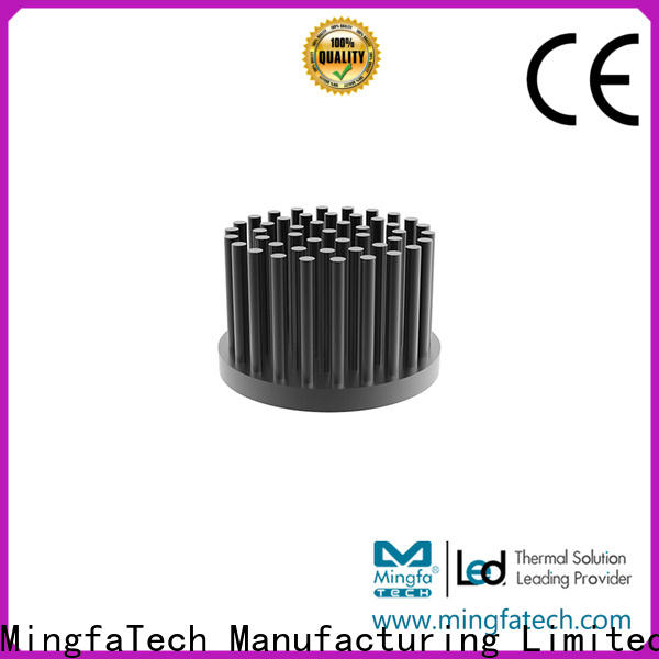 Mingfa Tech finned led strip heat sink manufacturer for parking lot