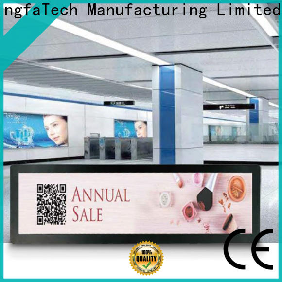 elegant lcd signage factory price for station
