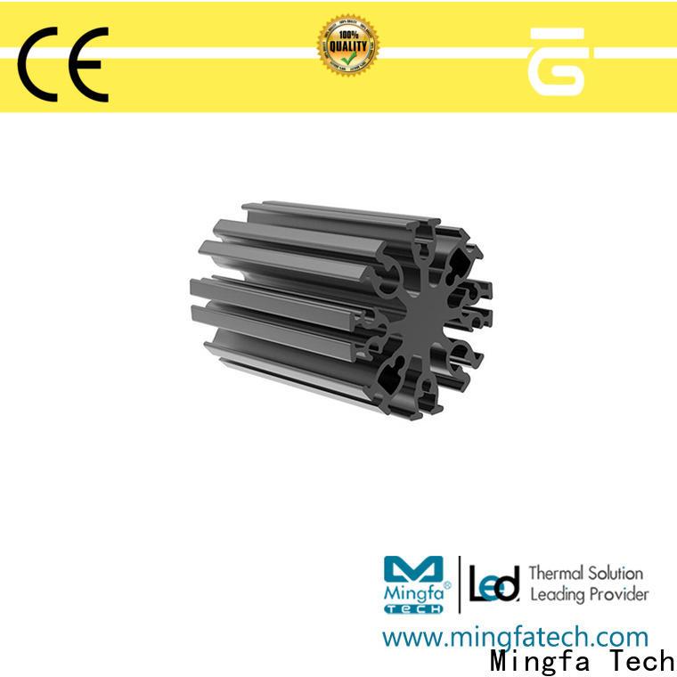 Mingfa Tech black 3w led heatsink design for museums