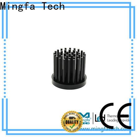 Mingfa Tech light circular heat sink anodized for landscape