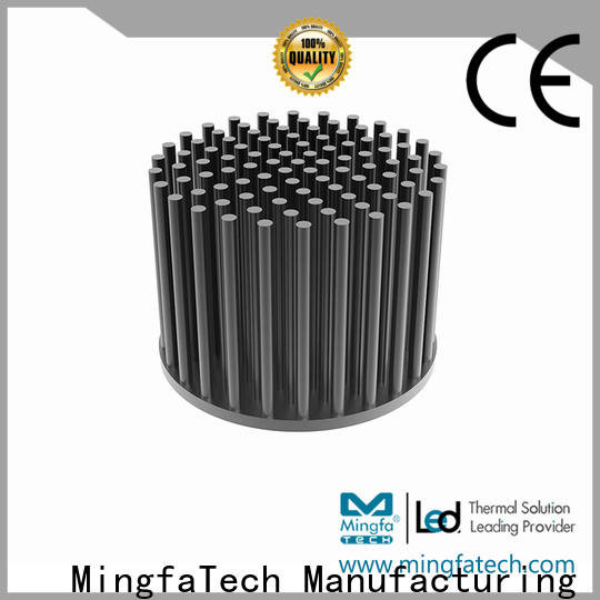 Mingfa Tech extruded heat sink cost manufacturer for retail