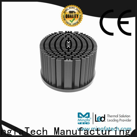 Mingfa Tech pinfin led thermal management manufacturer for roadway