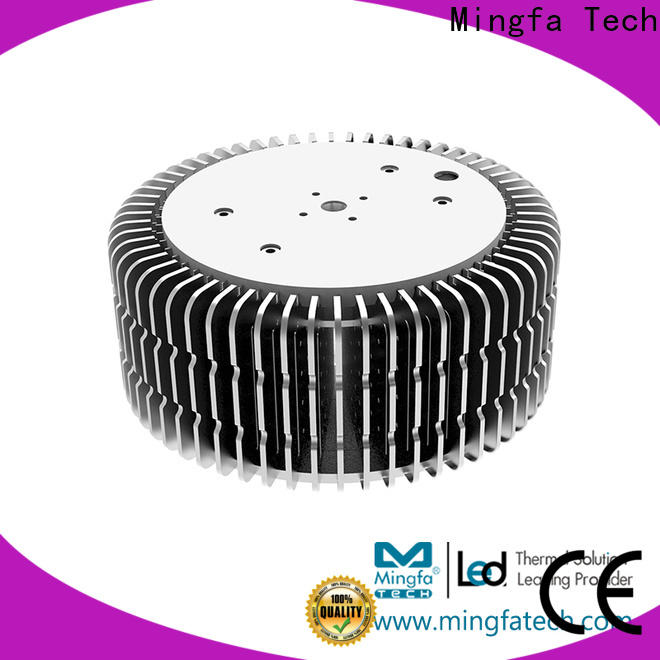 Mingfa Tech area extruded aluminum heatsink design for airport